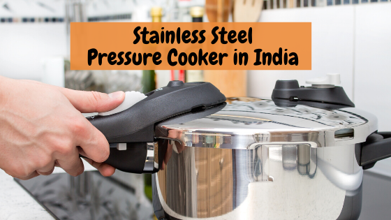 Stainless Steel Pressure Cooker in India