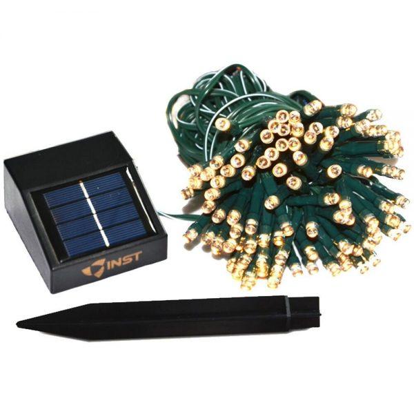 INST Solar Powered LED String Light