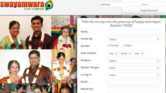 Swayamwara.com Site 1
