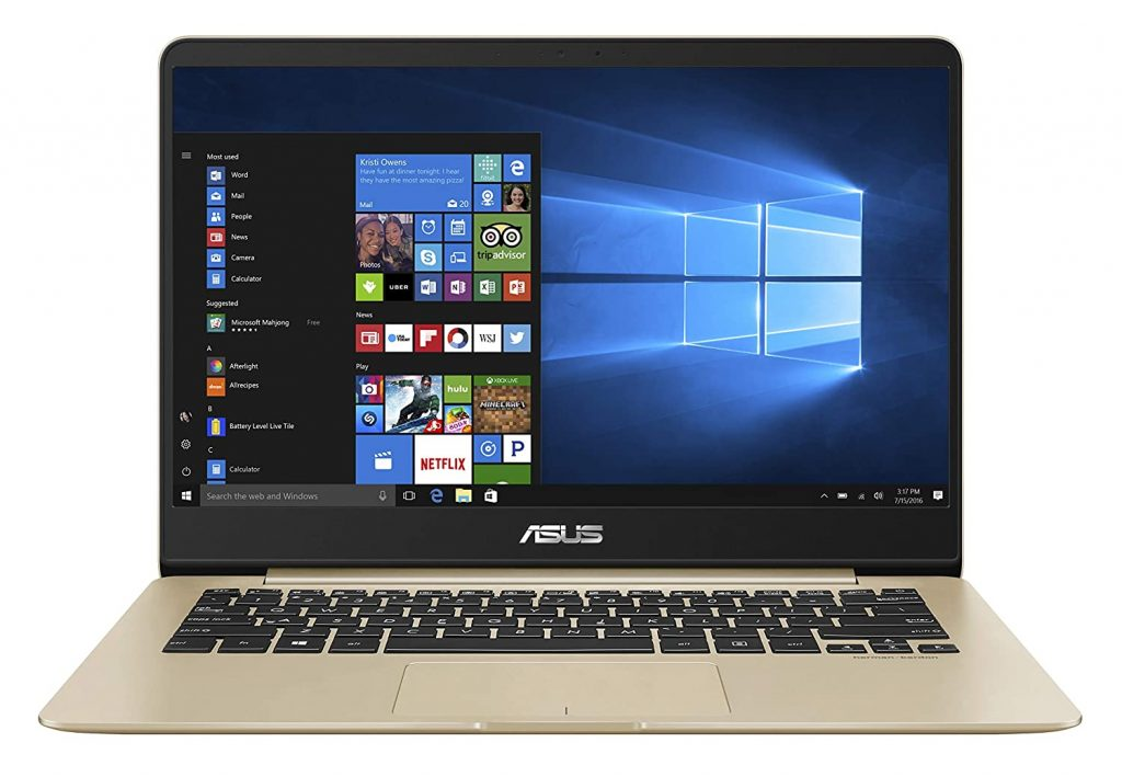 ASUS ZenBook 14 Inch Ultra Thin