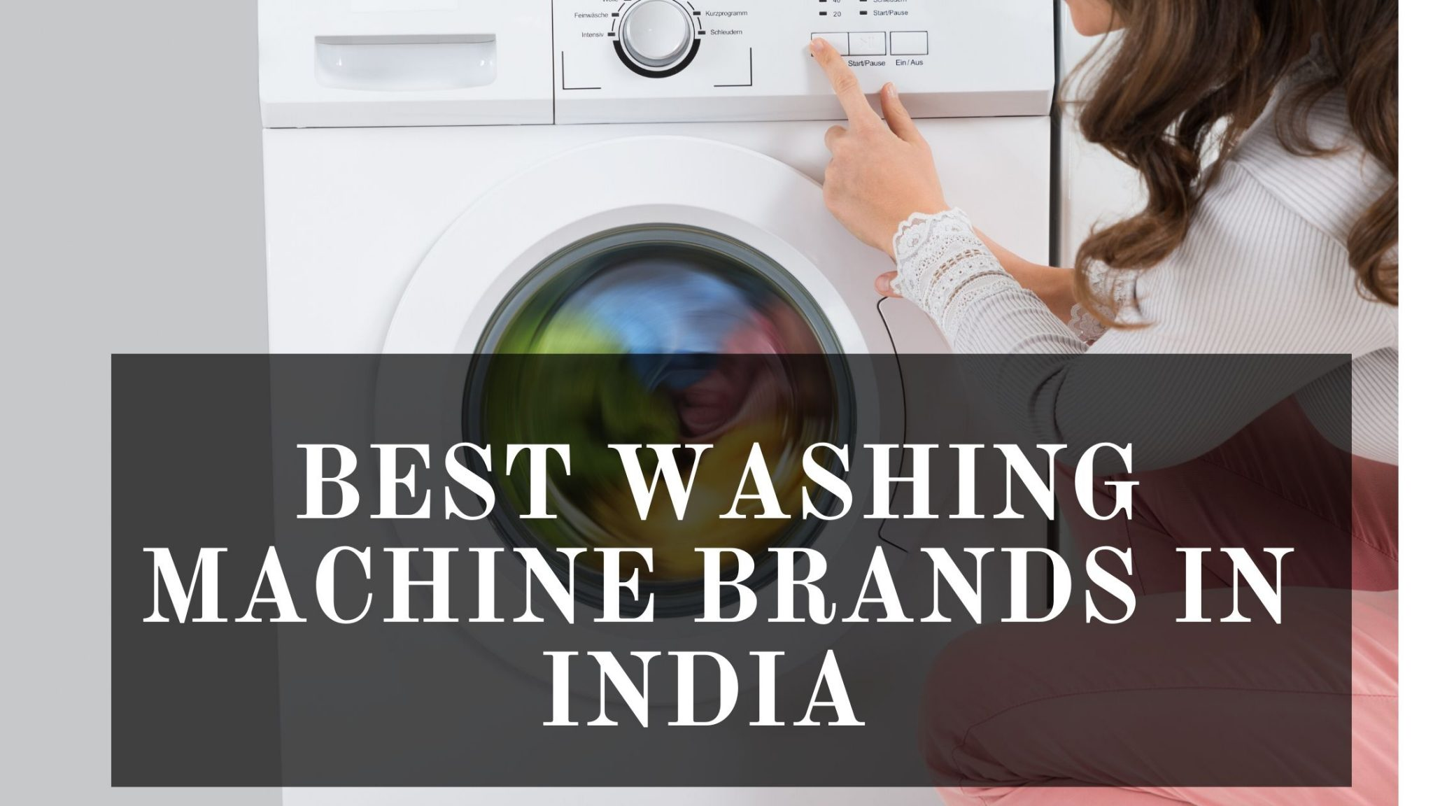 Best Washing Machine Brands in India