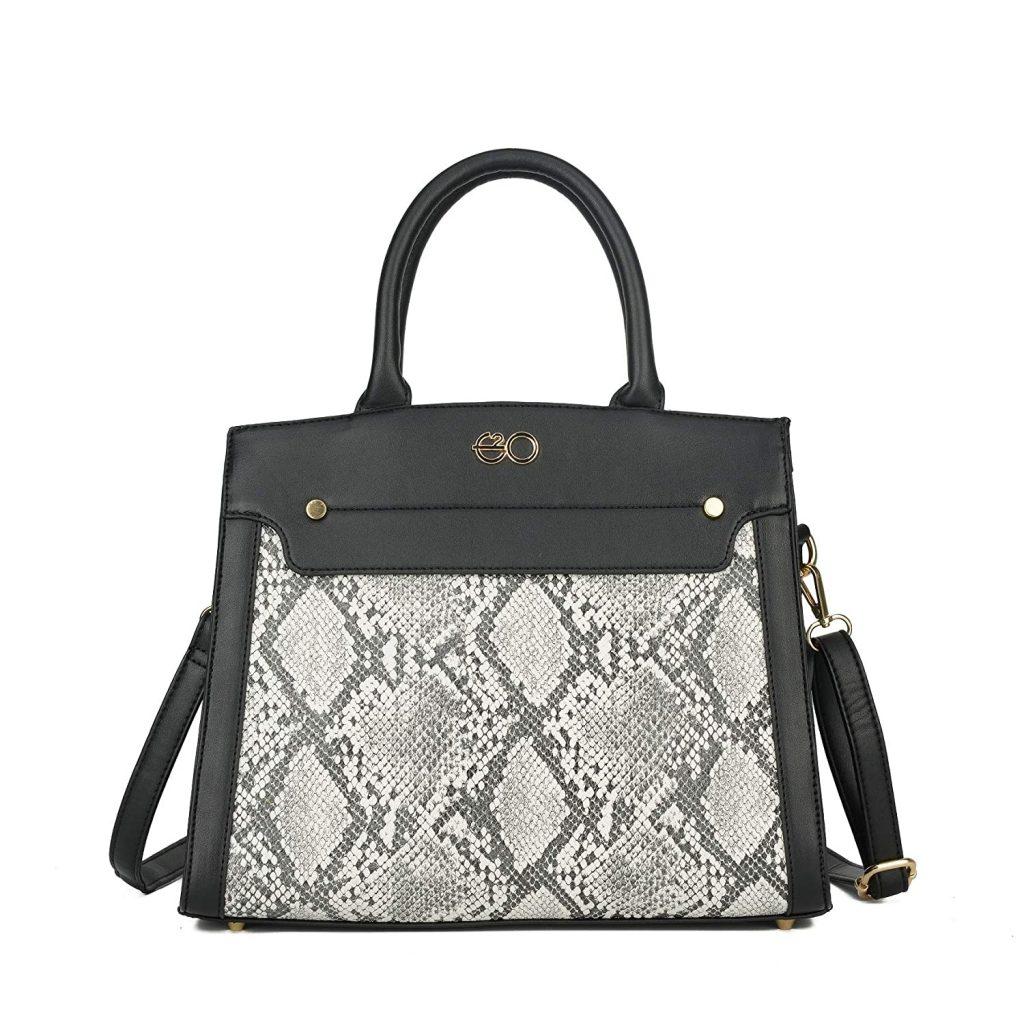 Black Satchel Bag For Women
