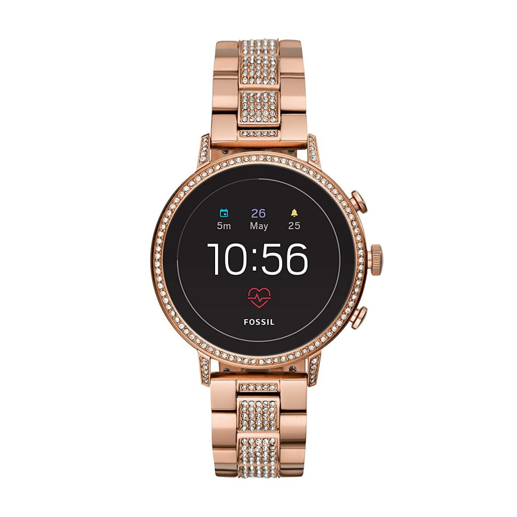 Fossil Stainless Steel Touchscreen Smartwatch