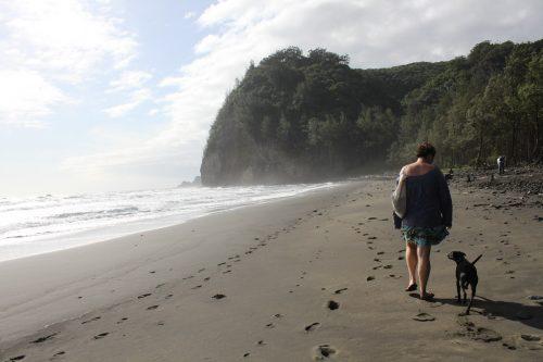 Pololu Valley Beach, Hawaii