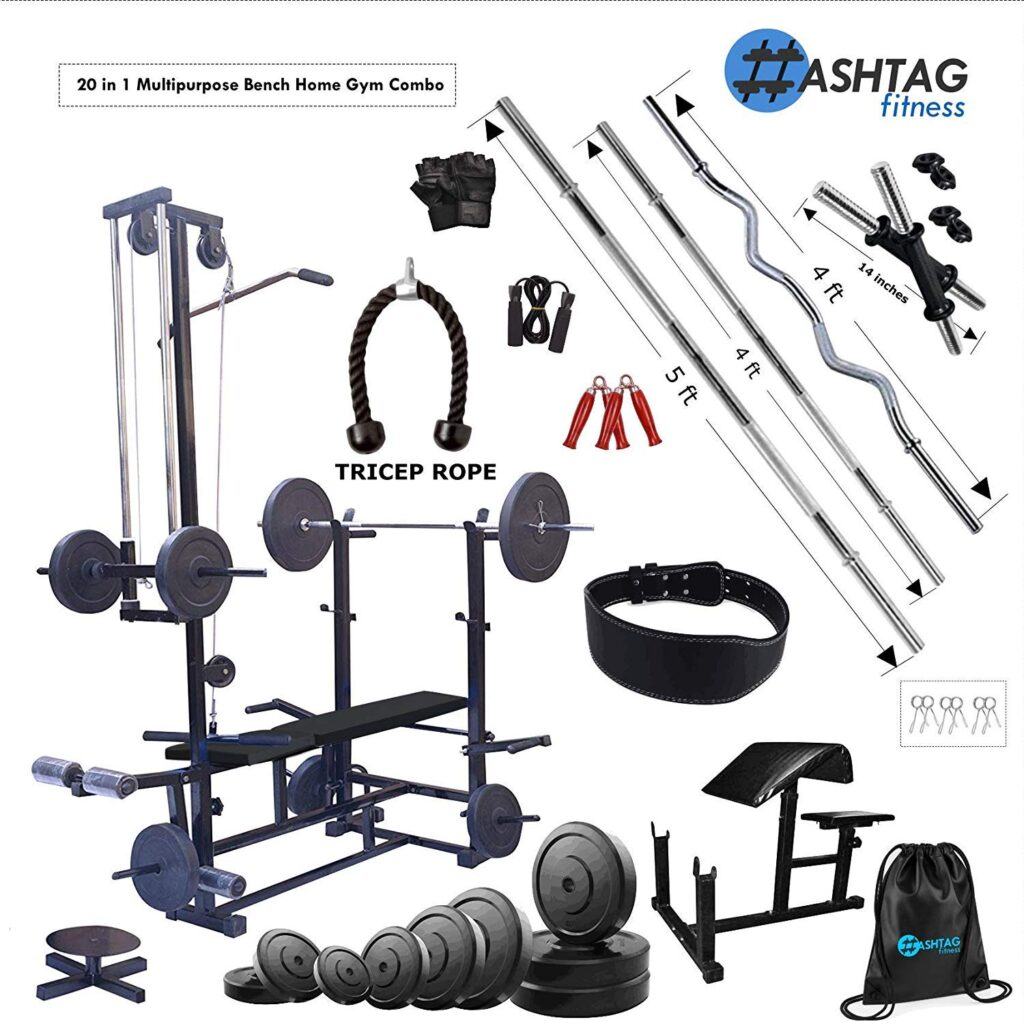 HASHTAG-FITNESS-20-in-1-Bench