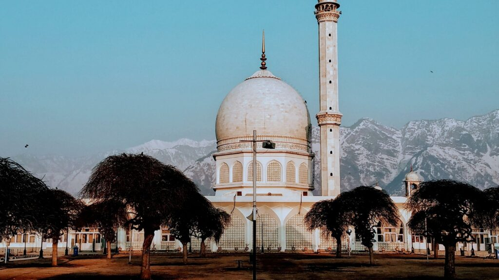 Hazratbal Masjid JK