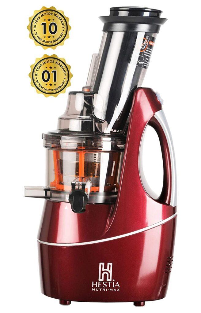 Hestia Appliances Nutri Max Cold Press Juicer