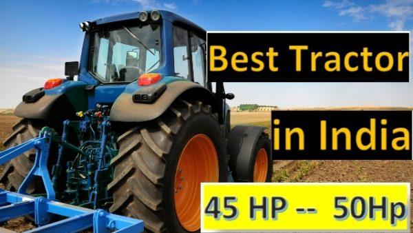 Best Tractor in India in 45-50 HP