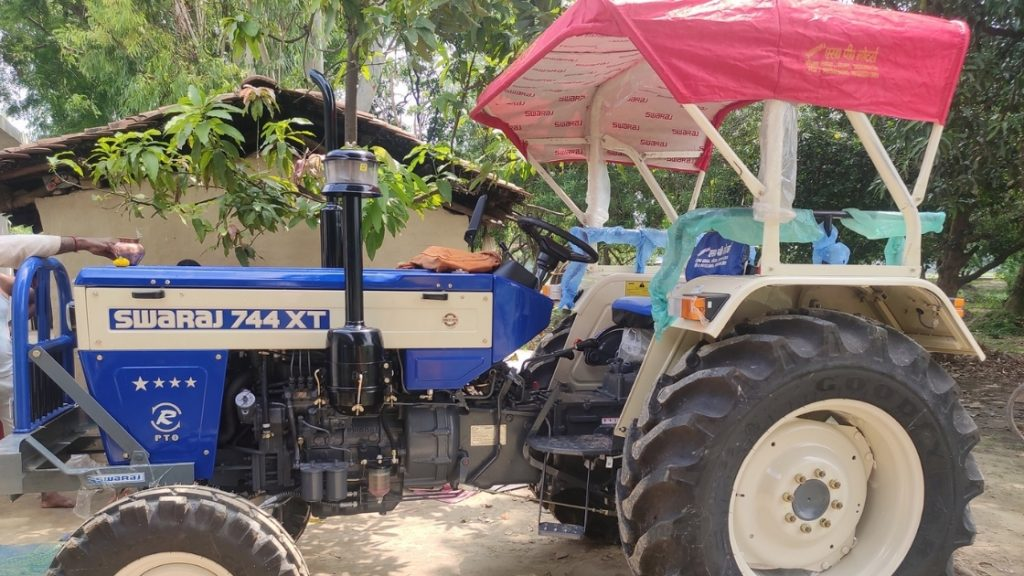 New Swaraj 744 XT