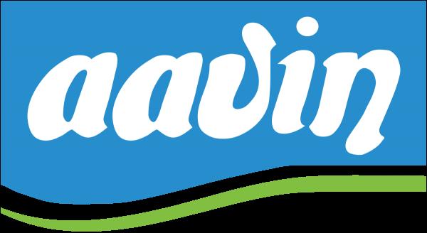 Aavin dairy logo