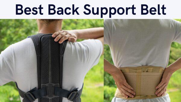 Best Back Support Belt for Lower Back Pain