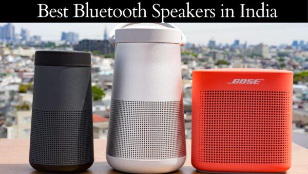 Best Bluetooth Speakers in India (2021)