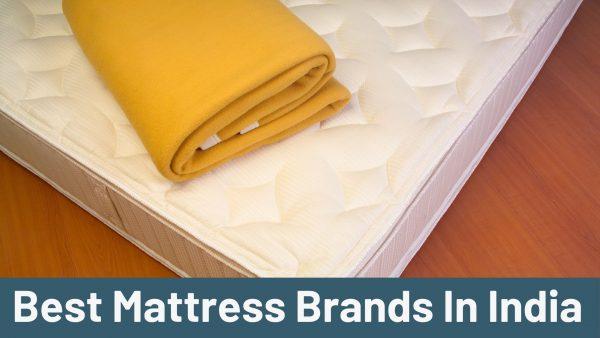 Best Mattress Brands In India