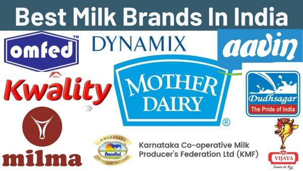 Best Milk Brands In India