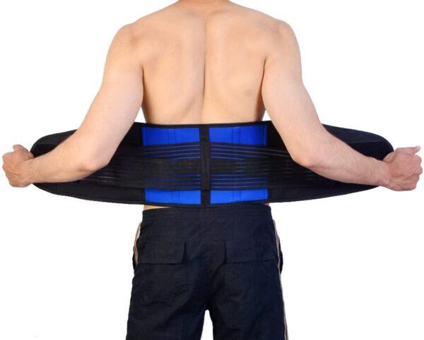 Deluxe Double Pull Neoprene Lumbar Support Belt