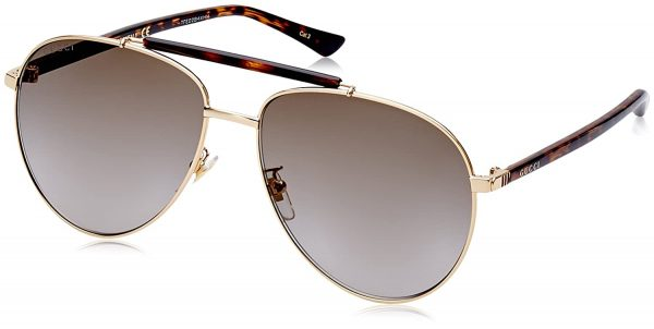 Gucci Sunglasses GG0014S Brown Lens
