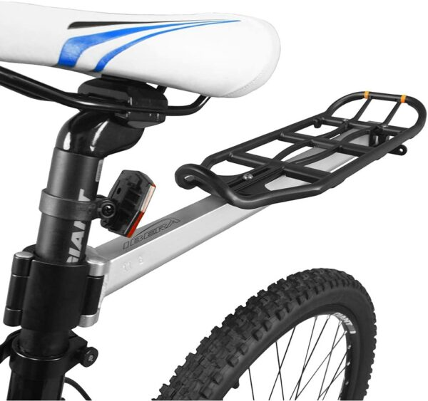 Ibera Bicycle Seatpost mounted Commuter Carrier