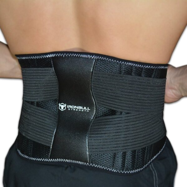 Iron Bull Strength Medi Back Brace with Integrated Thermal Action