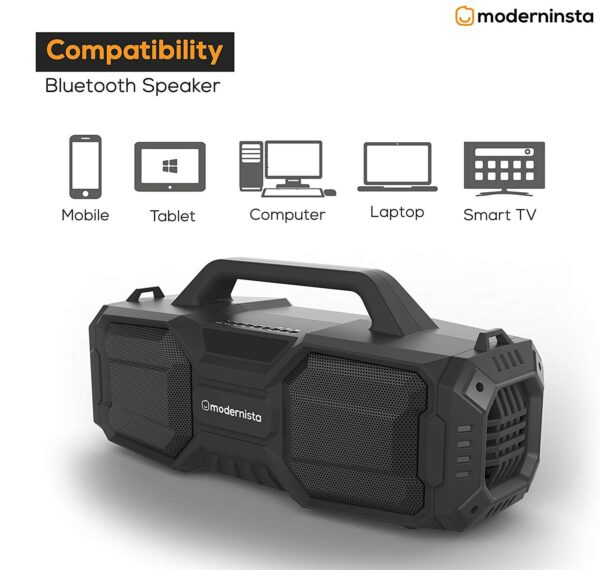 Modernista Ignite 32 W Portable Bluetooth Outdoor Party Speaker