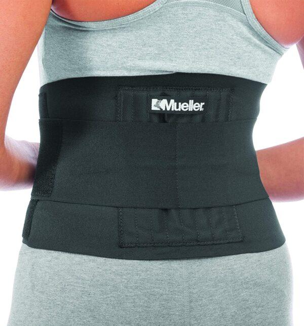 Mueller Adjustable Back Brace Black One Size