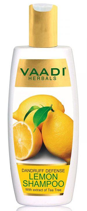 Lemon with Tea Tree Extract Shampoo Dandruff