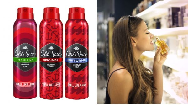 Old Spice perfumes