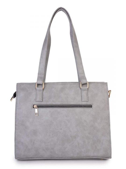Peperone Women Elise Grey Handbag