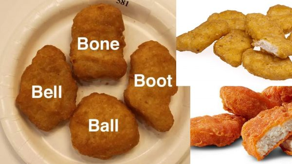 McNuggets are all alike