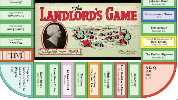 Monopoly the game of landlords