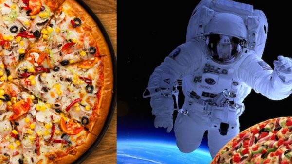 Pizza in Space